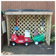 Image result for power wheels outdoor storage