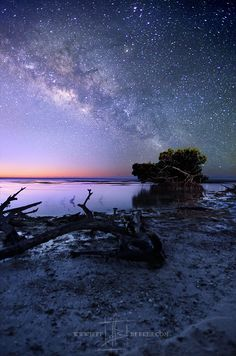 New Beginnings ... the Milky Way rises over the lower Florida Keys near Marathon Key. | by Jeff Berkes on 500px