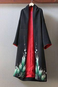 Fashion Background, Abaya Fashion, Japanese Kimono, Coat Dress, Refashion, Diy Clothes, Beautiful Outfits, Kimono Top, Gowns