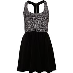 **Skater Dress by Oh My Love ($62) ❤ liked on Polyvore