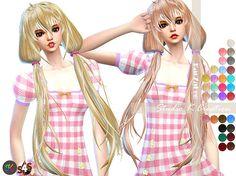 Studio K Creation: Animate hair 66 - Anzu  - Sims 4 Hairs - http://sims4hairs.com/studio-k-creation-animate-hair-66-anzu/