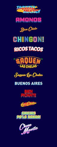 La Fábrica del Taco by Bosque ™, via Behance