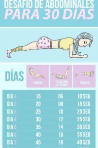 7 Ejercicios abdominales para reducir la grasa de la cintura
