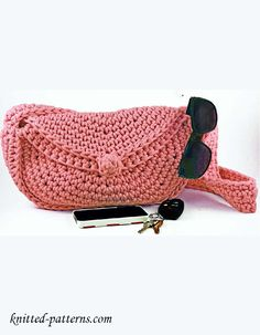 Mini-purse crochet pattern free