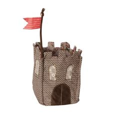 The Castle is part of a fairy tale collection that's all about fun and adventure. Stand alone or fill with Maileg's castle themed rattles. Comes without rattles. Princess And The Pea, Fabric Houses, Sewing Toys, Baby Play, Baby Toys, Kids Decor, Home Gifts, Baby Gifts, Kids Gifts
