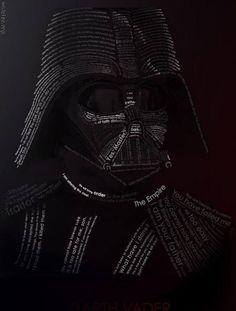 Typograficzny Vader