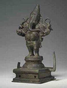 A bronze figure of Ganesha South India, Tamilnadu, Chola period, century… Baby Ganesha, Ganesha Art, Lord Ganesha, Shiva, Chola Dynasty, Sri Ganesh, Hindu Statues, Ganesh Statue, South India