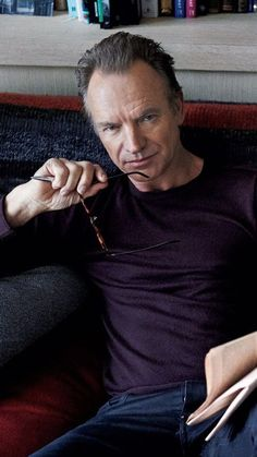 Sting's Salvation: Songwriter Opens Up About Dark Obsessions, Rock Rebirth Famous Singers, Pop Singers, Sting Musician, The Police Band, English Writers, The New Wave, Music People, How To Pose, Video Film