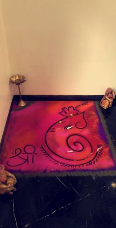 Easy Rangoli Designs Diwali, Indian Rangoli Designs, Rangoli Designs Latest, Simple Rangoli Designs Images, Rangoli Designs Flower, Rangoli Patterns, Free Hand Rangoli Design, Small Rangoli Design, Rangoli Border Designs