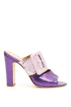 Get the must-have mules of this season! These Paris Texas Multicolored Open Toe Mules/Slides Size EU 39 (Approx. US Regular (M, B) are a top 10 member favorite on Tradesy. New Jaguar, Open Toe Mules, Paris Texas, Leather Mules, Heeled Mules, Pairs, Purple, Heels, Casual