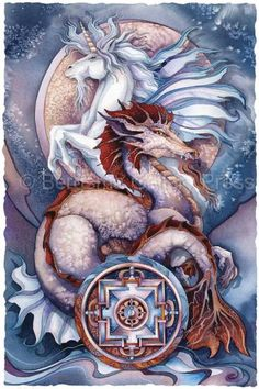 Bergsma Gallery Press :: Paintings :: Fantasy :: Mythological Creatures :: Elemental Magic - Prints