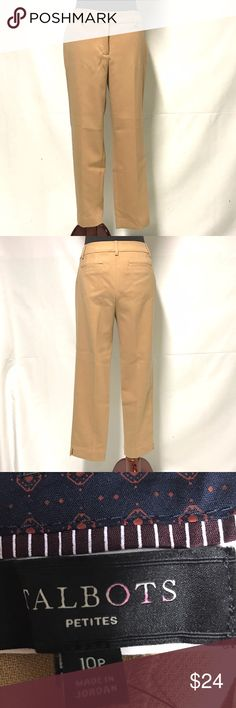 Nikeair Cole haan white and taupe fashion sneakers Tan straight leg trouaers-new with tags Talbots Pants Trousers