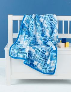 8a24313224e Free Knitting Pattern  Mitered Knit Baby Blanket. this is beautiful. I  really