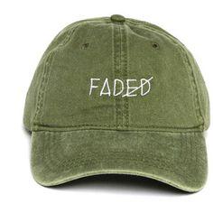 Faded Strapback
