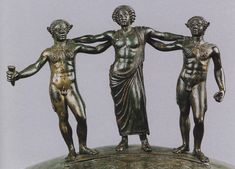 "theancientwayoflife: "" ~The Ficoroni Cista. Bronze. Late 4th century BCE. Rome, National Etruscan Museum of Villa Julia """