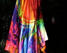 Tie Dye Skirt, Etsy Seller, Silk, Unique, Fashion, Moda, La Mode, Fasion, Fashion Models