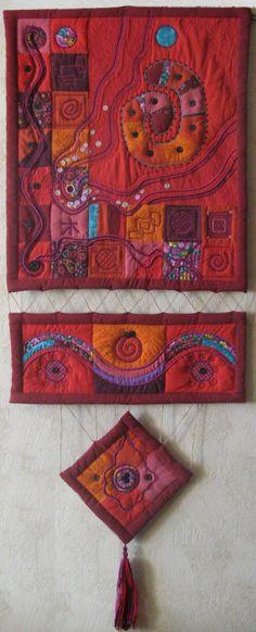 """Текстильное панно для интерьера. """"Развитие"""". Textile panno for the interior. """"Development"""". 135х58"""