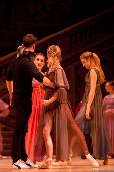 Royal Danish Ballet  Sleeping Beauty Fairies rehearsal