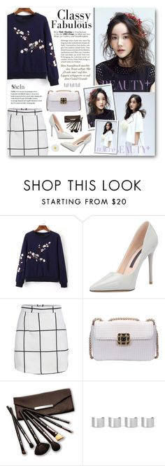 """""""Jin Hee"""" by warna ❤ liked on Polyvore featuring Borghese, Maison Margiela, Accessorize, women's clothing, women's fashion, women, female, woman, misses and juniors"""