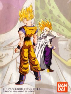 Collecting, posting, and preserving only the best possible quality scans of original Japanese promotional artwork for Dragon Ball, Dragon Ball Z, and Dragon Ball GT from 1986 - 1997 Dragon Ball Z, Evil Goku, Manga Anime, Anime Art, Goku And Gohan, Anime Comics, Akira, Illustration, Drawings