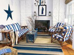 Star & Stripes Living Room