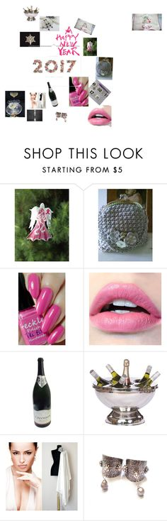 """A very Pink 2016...Cheers!"" by lisa-bodiker on Polyvore featuring beauty and Rifle Paper Co"