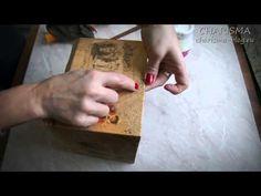 Мастер-класс по декупажу Коробочки для рецептов «Маленькая помощница» | CHARISMA-BLOG.RU