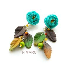 Turquoise peony earrings Peony, Turquoise, Earrings, Jewelry, Ear Rings, Stud Earrings, Jewlery, Bijoux, Peony Flower