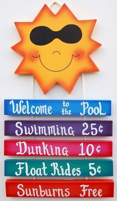 funny pool signs - Google Search