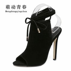 b87e7659fea4 2017 Fashion Summer Women High Heels Sandals super star Sexy Shoes Party Pumps  peep toe Women