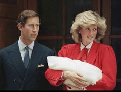 The birth of Prince Harry in 1984