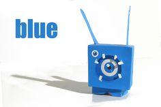 papertoy blue