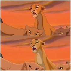 Lion King 2 redraw (Kiara) by spicygaypizzarolls on DeviantArt Lion King 2 Kovu, Simba And Nala, Lion King Movie, Disney Lion King, Images Disney, Disney Art, Le Roi Lion Film, Lion King Fan Art, King Art