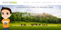 Diseño web de Redactorweb.es