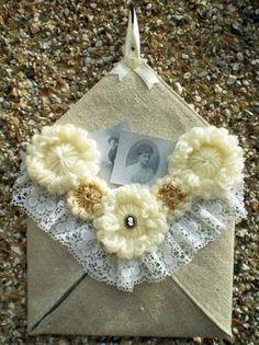 Decorative Fabric envelope, Constance