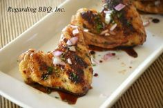 Grilled Apricot-Balsamic Chicken Wings