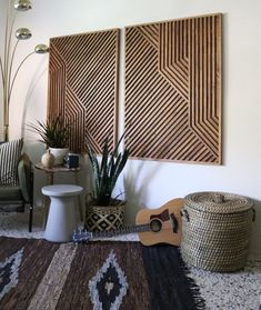Your place to buy and sell all things handmade : Wood Art Wood Wall Art Geometric Wood Art Geometric Wall Reclaimed Wood Art, Rustic Wood, Cnc Wood, Modern Wall Art, Wood Wall Art, Wood Walls, Decor Interior Design, Interior Decorating, Decorating Tips
