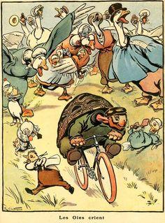 ''Les Oies Crient''