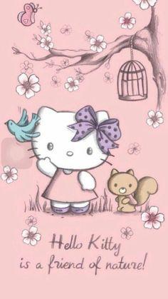✿Duitang ~ iPhone Hello Kitty.