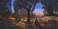 THE PEACOCK - Ernst Fuchs
