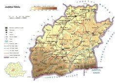 harta judeţul sibiu