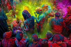 Holi, festival of colours in India