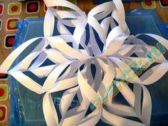 Как сделать украшения из бумаги для салатов