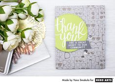 Thank You, you are a great asset to our community card by Yana Smakula for Hero Arts