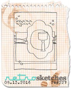 retro sketches : a challenge: retrosketches #227...