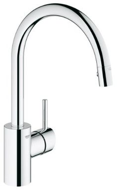 GROHE 32665DC1 Concetto Single-Handle Pull-Down Spray Head Kitchen Faucet - Touch On Kitchen Sink Faucets - Amazon.com