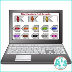 This fun digital busy box is perfect for online instruction or distance learning with your preschool, pre-k, or kindergarten kiddos! It works with multiple platform and in the classroom for practice matching colors! #mrsasroom Preschool Color Activities, Color Puzzle, Matching Colors, Busy Boxes, Group Work, Kindergarten Teachers, Learning Colors, School Resources, Task Cards