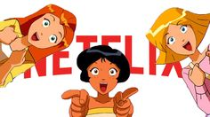 WOOHP, there it is.  TOTALLY SPIES IS ON NETFLIX!!!!!!!