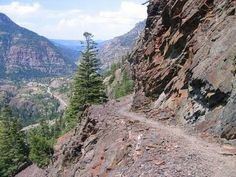 Engineer Pass, Lake City to Ouray, CO. Good Ride.