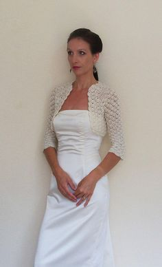 Bridal Shawl, Bridal Shrug, Ivory Shawl, Summer Wedding Shawl ...